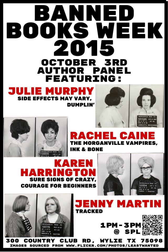 BANNED BOOKS WEEK 2015